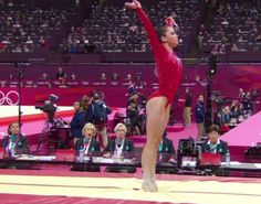 McKayla Maroney's vault made jaws drop. That's right. USA!
