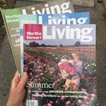 What a throwback! @thatssogabba spotted these vintage Martha Stewart Living magazines in her neighborhood. #TBT