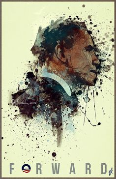 Obama portrait #1moroinspiration