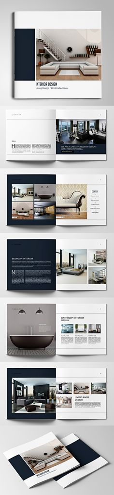 Simple content + layout of Brochure.