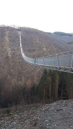 Suspension Bridge in Mörsdorf, Germany