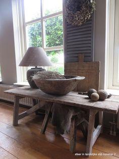 sfeer in landelijke stijl nummer 2: zonnetje in huis...