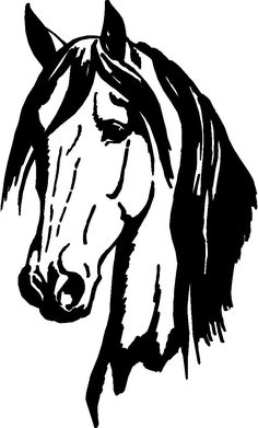 Got Cows Cutting Horse Vinyl Window Decal Car Stickers - ClipArt Best - ClipArt Best (wood bench designs window) Fuchs Silhouette, Horse Silhouette, Wood Burning Stencils, Wood Burning Patterns, Horse Head, Horse Art, Window Decals, Vinyl Decals, Horse Wall Decals