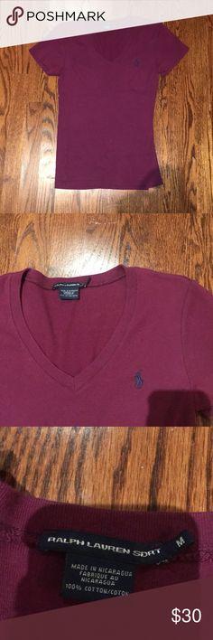 Ralph Lauren v-neck Casual wear super cute! Ralph Lauren Tops Blouses