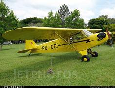PU-CCI Piper J-3C-65 Cub by Heinz G Wolf Junior
