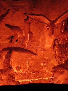 Otakar Sliva, ceramic rabbits in raku kiln