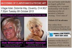 Sue Whitcroft & Sandy Ingham