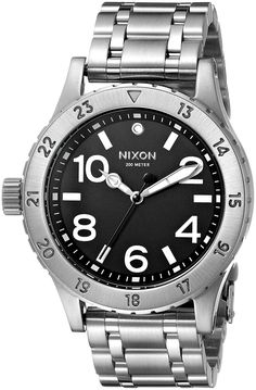 Nixon Women's A410000 38-20 Analog Display Japanese Quartz Silver Watch *** Read more at the image link.