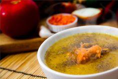Mulligatawny - sopa vegetariana tradicional da Índia.