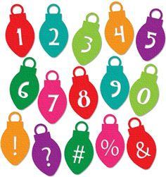 Silhouette Design Store - View Design #36129: ornament alpha numbers 2 of 3