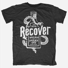 Snake Oil Black T-Shirt
