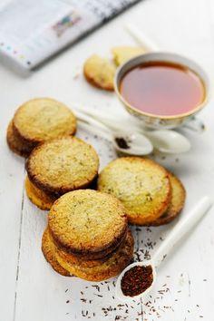 Asiiiimbonanga !!! Et si à la place du tea time c'était le rooïbos time ??? Et petit sablés au rooïbos !