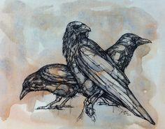 Jon Shaw ACRYLIC and INK