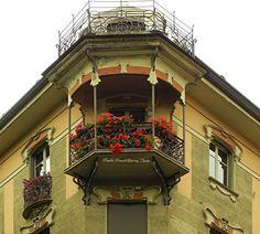 Casa Macciotta (by Paola Parodi/www.italialiberty.it) 1904 - Pietro Fenoglio Corso Francia 32 angolo Via Bagetti