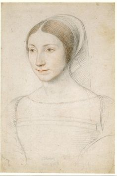 This unknown woman (thought by some to be a young Marguerite de Navarre) became the model for my main character, Catherine (Jean Clouet, c. 1530)