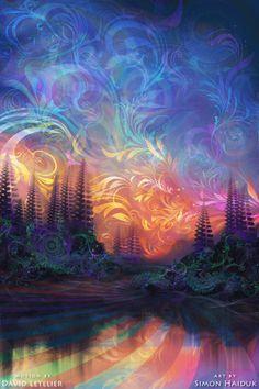 "Simon Haiduk ""Agostina Sky"" with motion done by David Letelier."