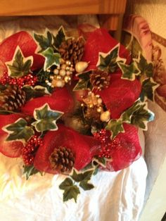 Handmade christmas wreaths in a variety of sizes, can be made bespoke to your requirements. Handmade Christmas, Christmas Wreaths, Strawberry, Canning, Fruit, Strawberry Fruit, Home Canning, Strawberries, Conservation