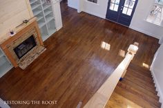 Flooring choices in our new farmhouse: hardwoods, tile, carpet, and more. Visit the post to see what we picked out!
