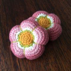 Flores gorditas tejidas a crochet!