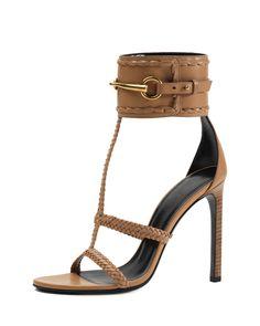 Ursula Ankle-Strap Sandal, Camelia