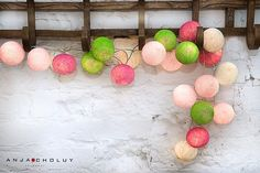 Sweet Pastel Cotton Ball Fairy Light for sale on Trade Me, New Zealand's auction and classifieds website Cotton Ball Lights, Interior Exterior, Fairy Lights, Home Accessories, Color Schemes, Kids Room, Daisy, Projects To Try, Wedding Inspiration
