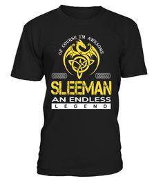 SLEEMAN An Endless Legend