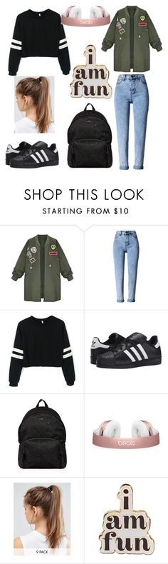 """""""💙Pin it💙"""" by littledutchfashionista ❤ liked on Polyvore featuring WithChic, adidas Originals, Hogan, NIKE and ban.do"""