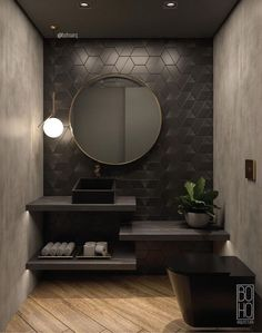 Every luxury bathroom design is updated with the finest details and unique furni. - Every luxury bathroom design is updated with the finest details and unique furniture designs…If y - Best Flooring For Kitchen, Mawa Design, Bathroom Design Luxury, Luxury Bathrooms, Master Bathrooms, Grey Bathrooms, Winter Home Decor, Modern Room, Amazing Bathrooms