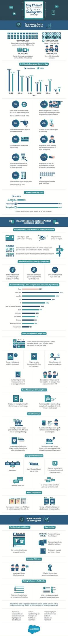 Social Media - Quick Tips for Perfecting Your Instagram Strategy [Infographic] : MarketingProfs Article
