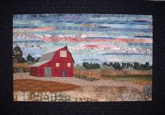 "Nebraska Landscape, 17 x 25"", by Shelly Burge"