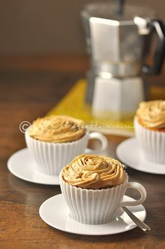 coffee cupcakes...in cups!