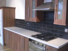 Walnut kitchen in sheffield