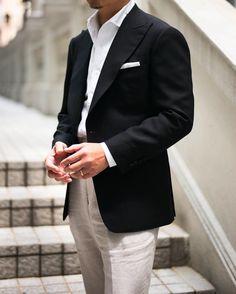 "114 Me gusta, 2 comentarios - Patrick Chu Bespoke Hong Kong (@mousecly) en Instagram: ""@wwchantailor @merinobrothers @harrisons1863 Spring Ram jacket Solbiati linen trousers Thomas…"""