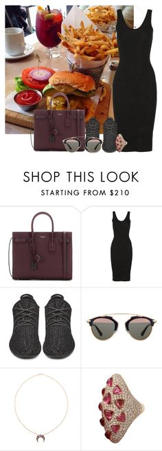 """Bez naslova #6019"" by unorthodox-1 ❤ liked on Polyvore featuring Chanel, Yves Saint Laurent, Enza Costa, adidas Originals, Christian Dior, Woodbury and Inbar"