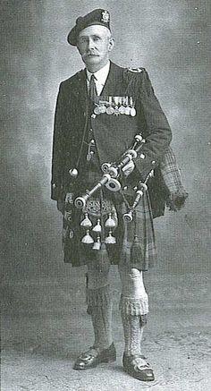 John McLellan, D.C.M., Dunoon (1875-1949)