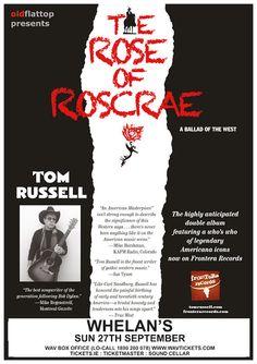 Sun 27 September - Tom Russell @ Whelan's Tom Russell, 27 September, Sun, Album, Movie Posters, Film Poster, Billboard, Film Posters, Card Book