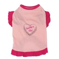My little girly-girl would love this! #dog #dogclothes #dogshirt dogapparelproducts.com