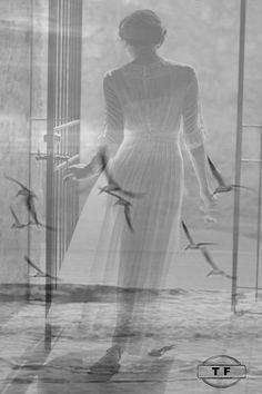 ❋黑白(Black and White)❋ Double Exposure Photography, White Photography, Cute Images, Beautiful Images, Double Exposition, Multiple Exposure, Am Meer, Deviant Art, Beauty Art