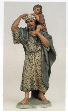 "Foro de Belenismo - Índice de Artesanos Figuristas ""Clásicos"" -> Martí Castells i Martí We Three Kings, Ceramic Figures, Nativity, Catholic, Sculptures, Character Design, Statue, Couple Photos, Israel"