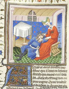 Bible Historiale, MS M.394 fol. 112r - Images from Medieval and Renaissance Manuscripts - The Morgan Library & Museum