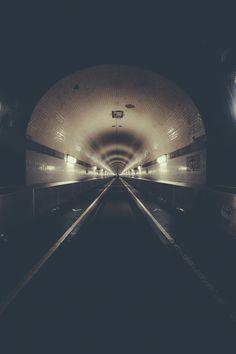 Elbe Tunnel by Lars Focke, via Behance