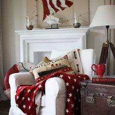 Love the red and the Americana!
