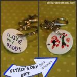 Quick Gift: Father's Day Shrinky Keychain