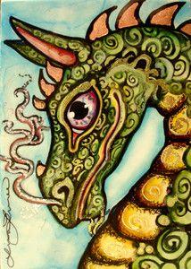 Fantasy Magical Medieval Dragon
