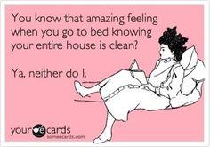 Clean house?