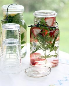 Keep your skin refreshed and hydrated this summer with herbal water.