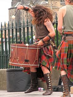 Scots music. This photo is great!