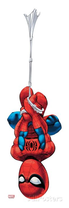 Marvel Super Hero Squad: Spider-Man Swinging Art Print at AllPosters.com