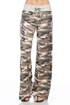 Camo Pajama Pants