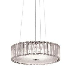 @Overstock - Kichler Lighting Contemporary 4-light Chrome Pendant - Add a touch of modern style to your decor with this fascinating lighting fixture. This contemporary 4-light pendant features a chrome finish that will complement your contemporary decor.  http://www.overstock.com/Home-Garden/Kichler-Lighting-Contemporary-4-light-Chrome-Pendant/9826893/product.html?CID=214117 $96.99